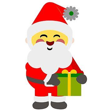 My Santa My Hope - Christmas T shirt - Xmas by ViVedX