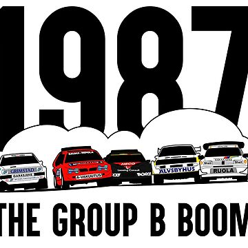 The group B boom by purpletwinturbo