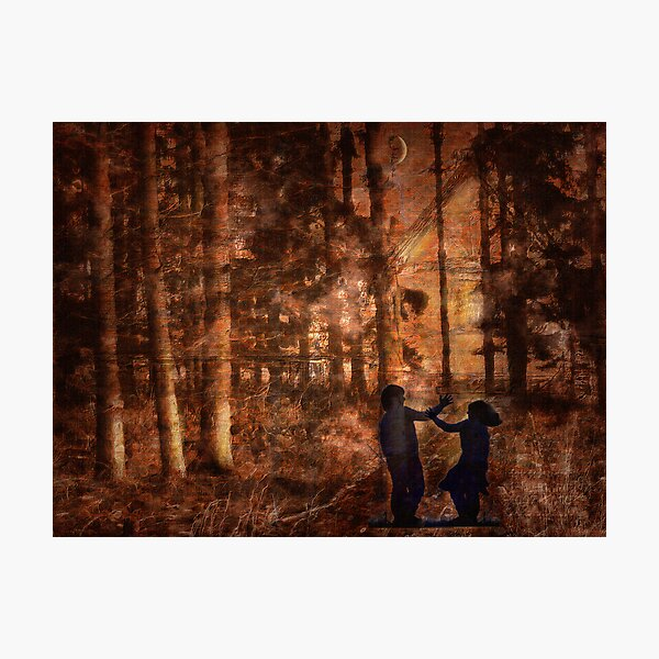Hänsel und Gretel Photographic Print