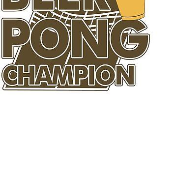Beer Pong Funny TShirt Epic T-shirt Humor Tees Cool Tee by maikel38