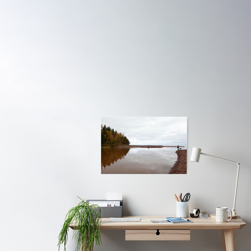 Mouth of the Gooseberry River Poster