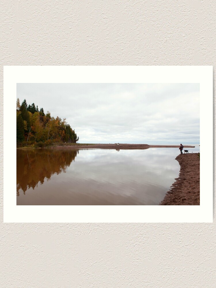 Alternate view of Mouth of the Gooseberry River Art Print