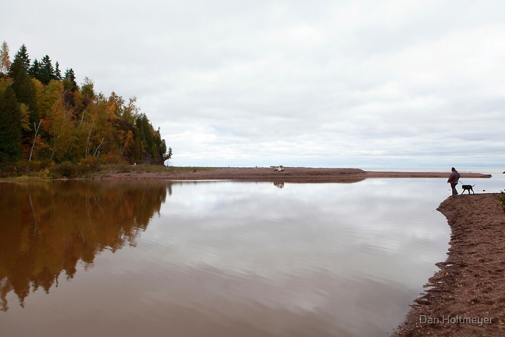 Mouth of the Gooseberry River by Daniel Holtmeyer