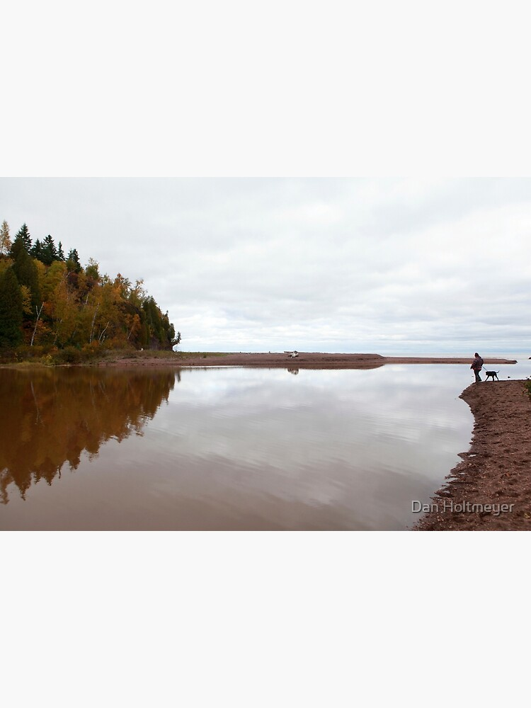 Mouth of the Gooseberry River by shadydog