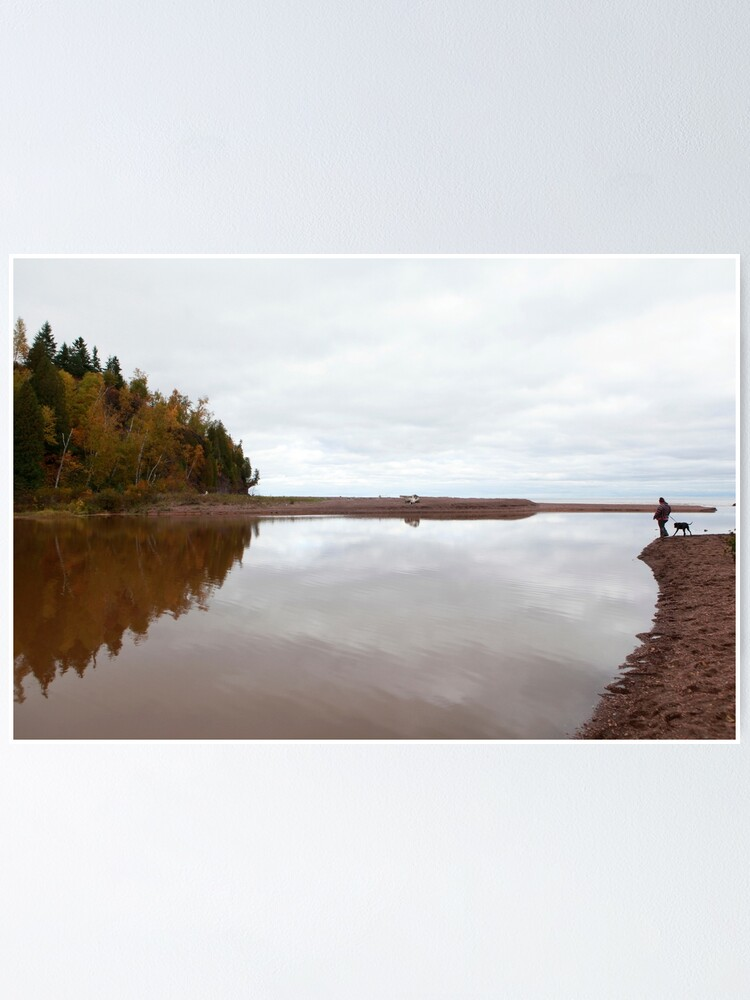 Alternate view of Mouth of the Gooseberry River Poster