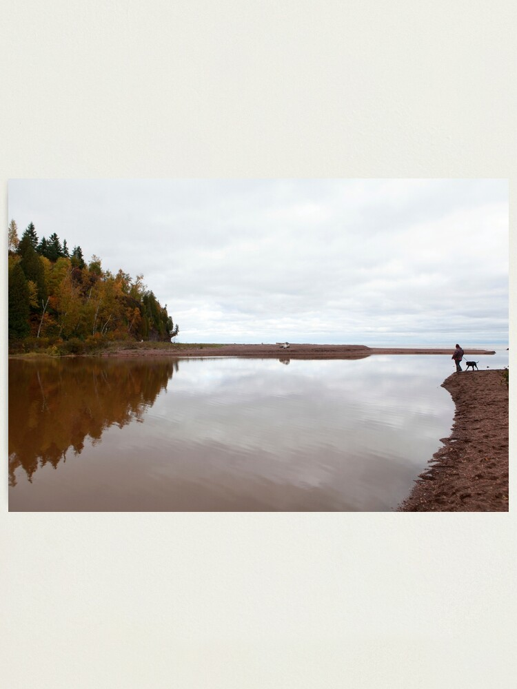 Alternate view of Mouth of the Gooseberry River Photographic Print