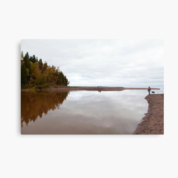 Mouth of the Gooseberry River Metal Print