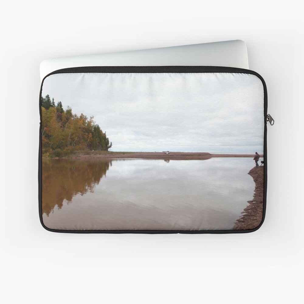 Mouth of the Gooseberry River Laptop Sleeve