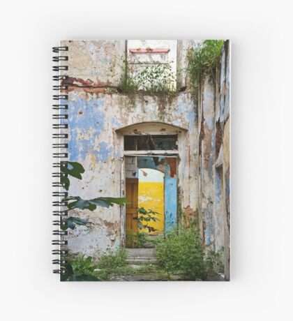 Beautiful Decay Spiral Notebook