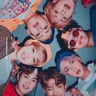 BTS Cute Group Poster - SG 2019  by KpopTokens
