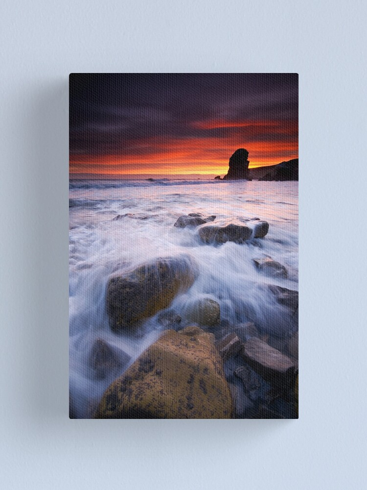Alternate view of Winters dawn Canvas Print
