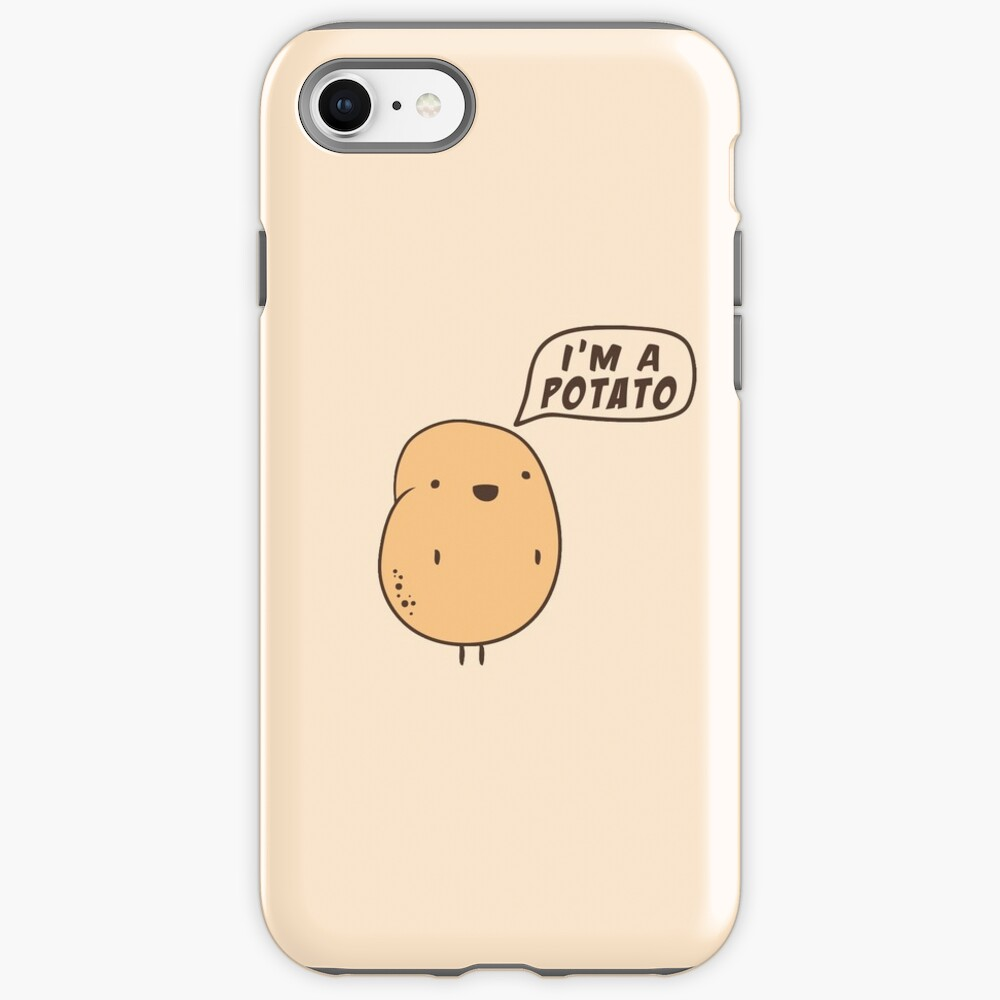 I'm a Potato iPhone Case & Cover