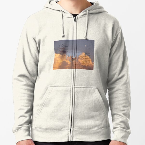 In My Father's house-John 14:2 Zipped Hoodie