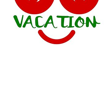 Funny Christmas Out on Vacation Shirts by ViVedX