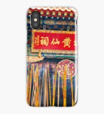 Wong Tai Sin Temple 2 iPhone Case/Skin