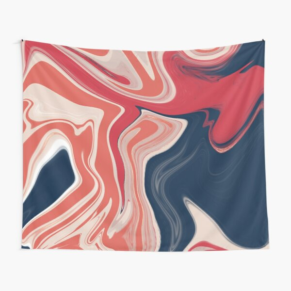 Warm + Cool Marble  Tapestry