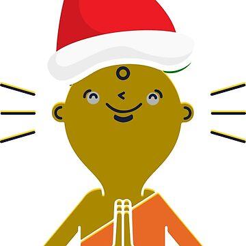Yoga Christmas - Yoga Merry Christmas by ViVedX