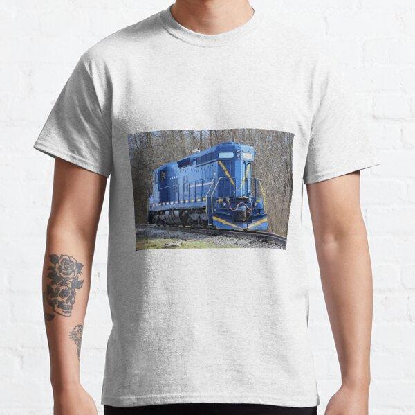 Blue Locomotive Classic T-Shirt