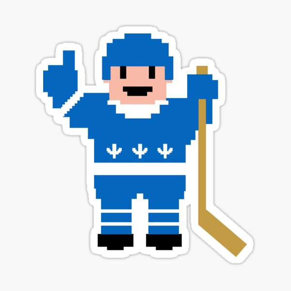 Quebec Hockey Player Sticker