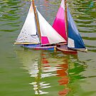 Two small boats by retouch