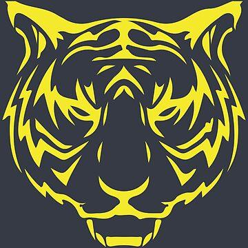 Tiger Face by Jkotlan