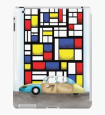 de car stijl iPad Case/Skin