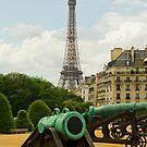 Paris, France - Eiffel tower by retouch