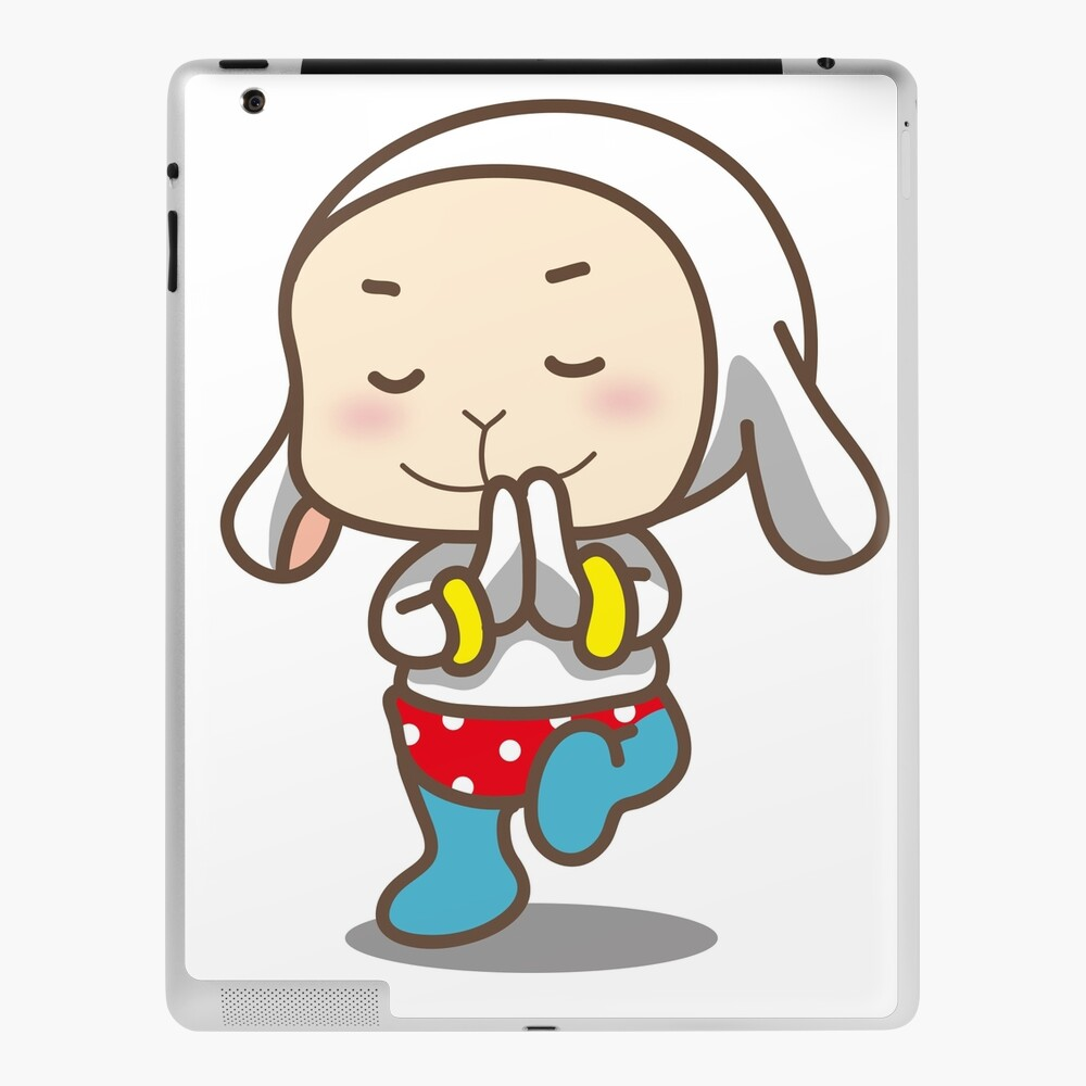Funny Christmas Cartoon Yoga Meditation Ipad Case Skin By Gemsuality Redbubble