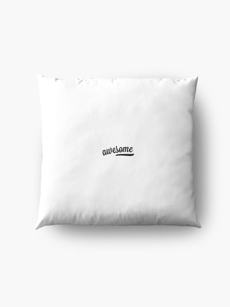 Alternative Ansicht von Toller Titelentwurf minimalistisch Bodenkissen