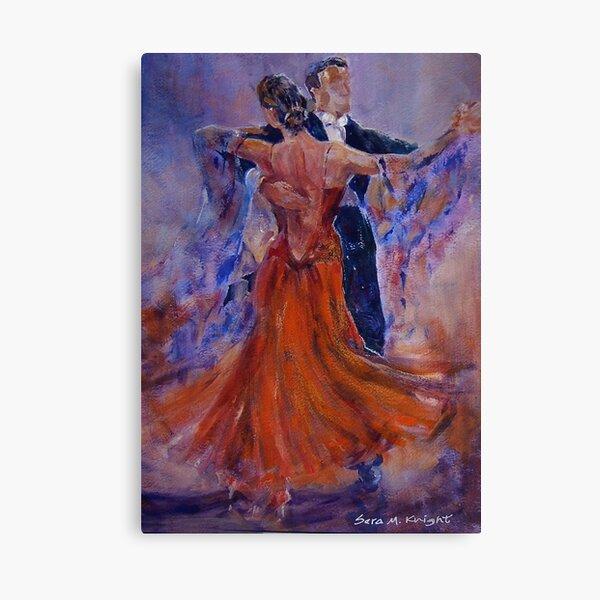 Ballroom Dancing – Dance Gallery 33 Canvas Print