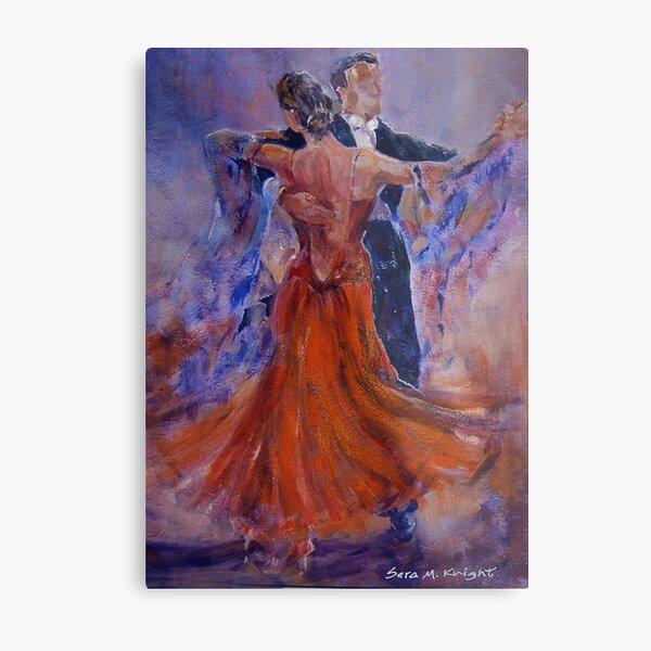 Ballroom Dancing – Dance Gallery 33 Metal Print