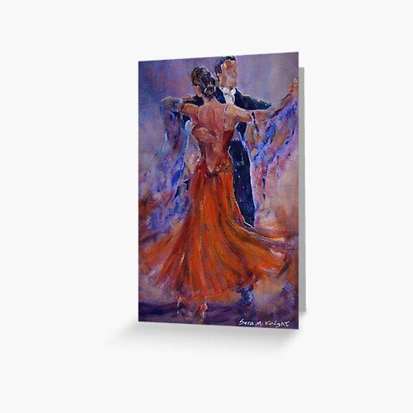 Ballroom Dancing – Dance Gallery 33 Greeting Card