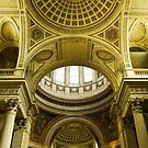 Inside of Pantheon - Paris, France by retouch