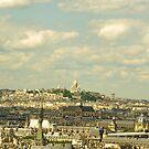 Sacre Coeur in Paris by retouch