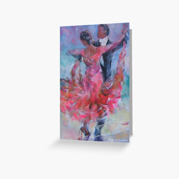 Ballroom Dancing - Dance Gallery Greeting Card