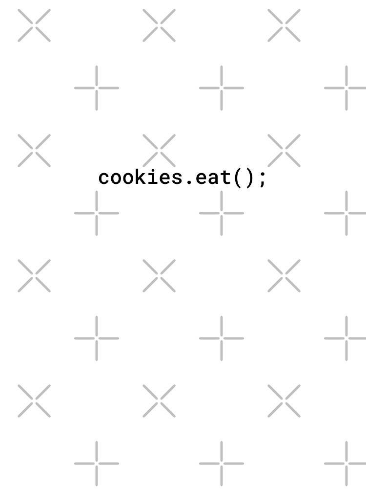 JavaScript - Eat Cookies (Inverted) by developer-gifts