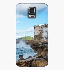 Santa Maria di Castellabate on the Southern Italian Coast Case/Skin for Samsung Galaxy