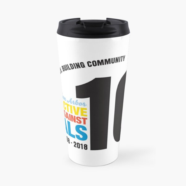 10 Years Active Against ALS Travel Mug
