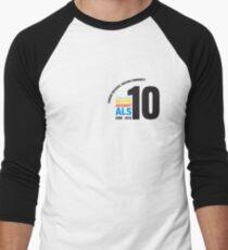10 Years Active Against ALS Men's Baseball ¾ T-Shirt