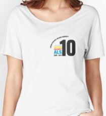 10 Years Active Against ALS Women's Relaxed Fit T-Shirt