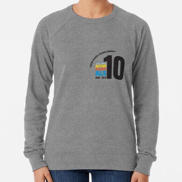 10 Years Active Against ALS Lightweight Sweatshirt