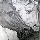 Horse sculpture by Robert David Gellion