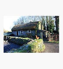 Irish thatched cottage Photographic Print