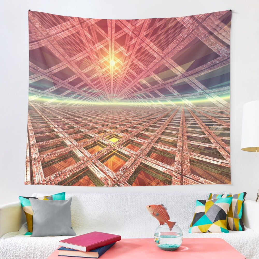 Space Portal To The Stars Tapestry