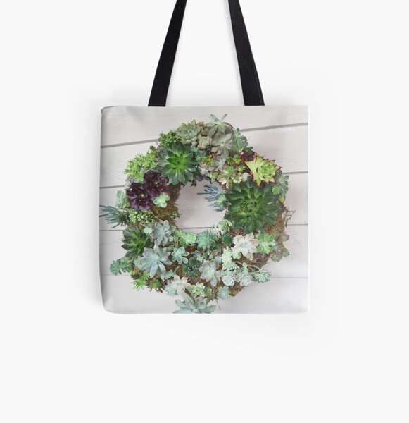 succulent greetings All Over Print Tote Bag
