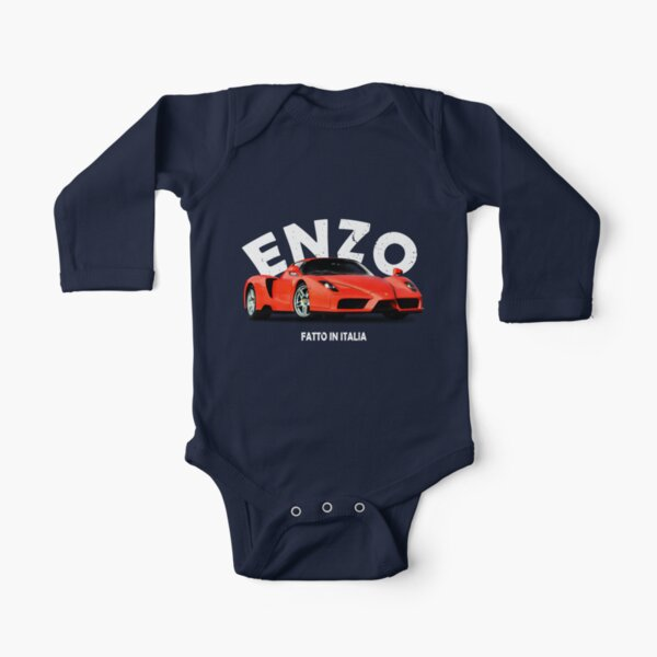 Enzo Long Sleeve Baby One-Piece