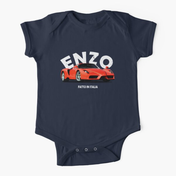 Enzo Short Sleeve Baby One-Piece