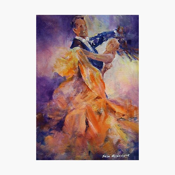 Ballroom Dancing – Dance Art Gallery 32 The Waltz Photographic Print