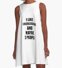 CHEERLEADING Lover Funny Gift Idea I Like Hobby A-Line Dress