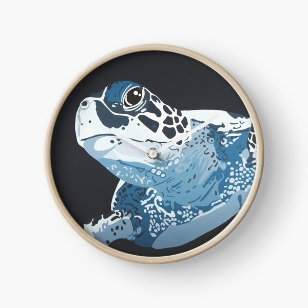 Turtle DEEP BLUE SEA Clock